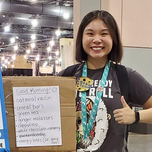 Vicky Tan, aka Vickinator