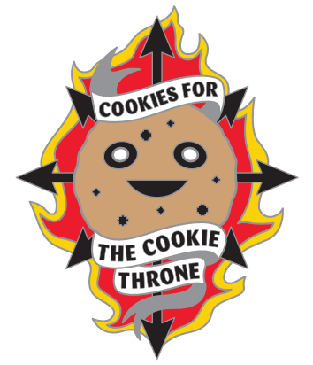 Chippy as a symbol of Chaos from the 40k universe, Cookies for the Cookie Throne