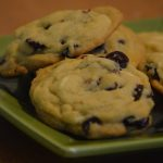 Cranberry island cookies on a plate